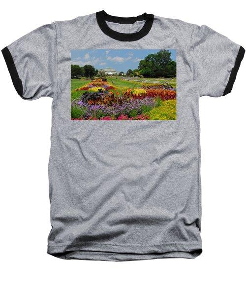 Baseball T-Shirt featuring the photograph Conservatory Gardens by Lynn Bauer