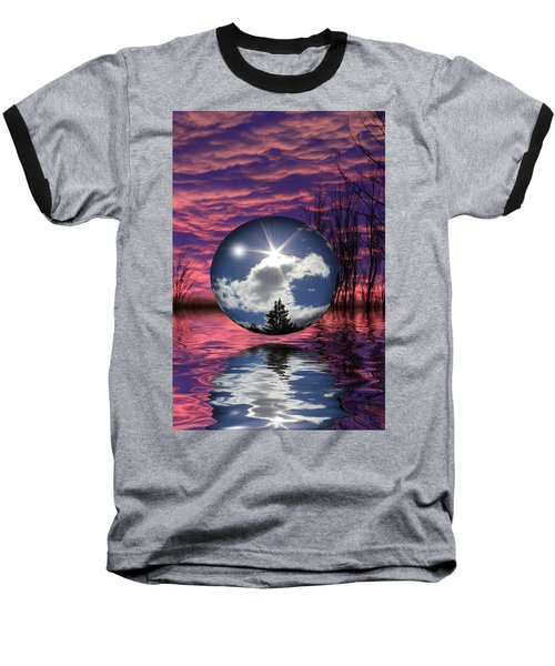 Contrasting Skies Baseball T-Shirt