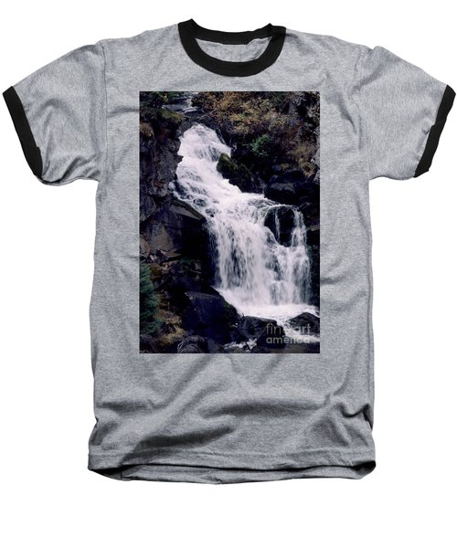 Baseball T-Shirt featuring the photograph Cool Clear Waters by Sharon Elliott