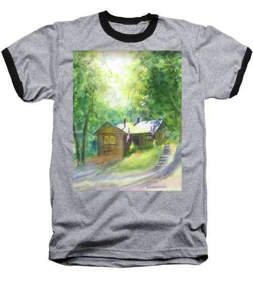 Cool Colorado Cabin Baseball T-Shirt
