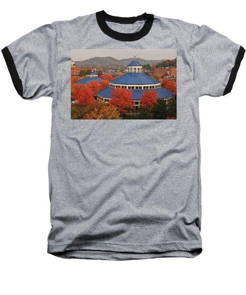 Coolidge Park Carousel Baseball T-Shirt