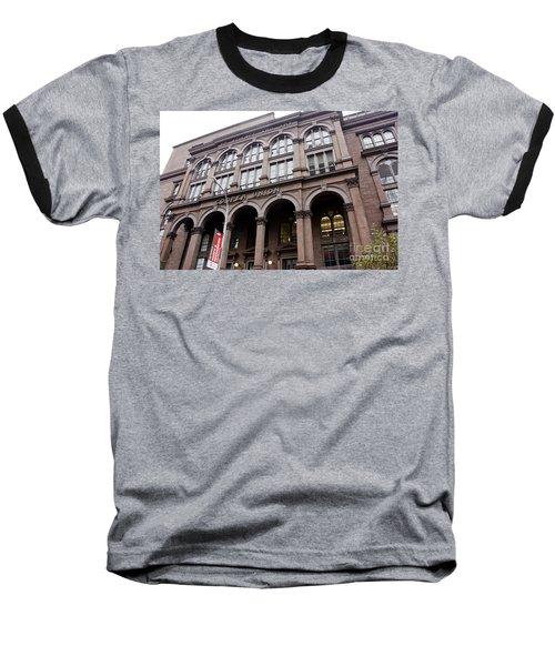 Cooper Union Baseball T-Shirt by David Bearden