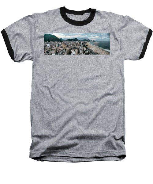 Copacabana Sunset Baseball T-Shirt