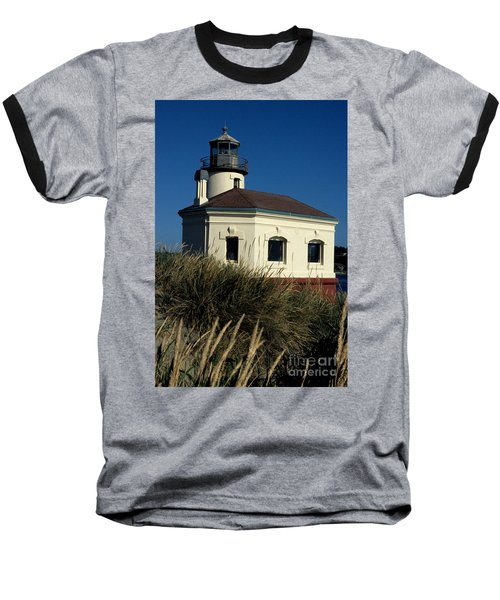 Baseball T-Shirt featuring the photograph Coquille Light by Sharon Elliott