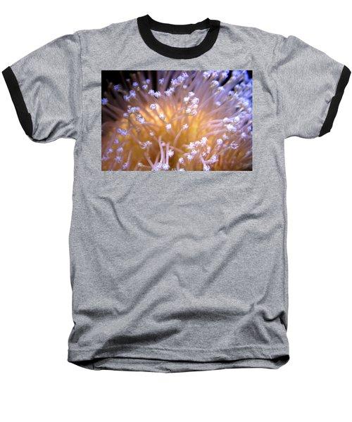 Coral 3 Baseball T-Shirt