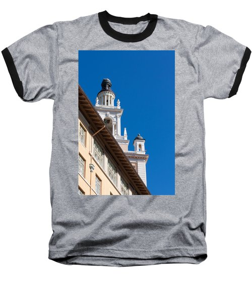 Baseball T-Shirt featuring the photograph Coral Gables Biltmore Hotel Tower by Ed Gleichman