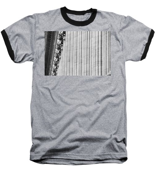 Baseball T-Shirt featuring the photograph Corinthian Columns by John Schneider