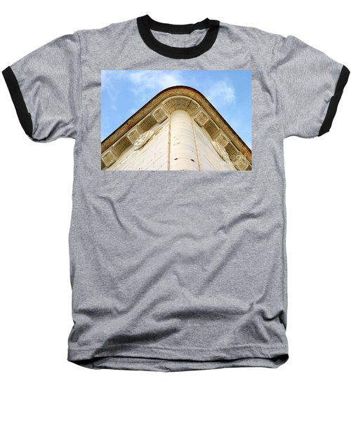 Corner Building Baseball T-Shirt