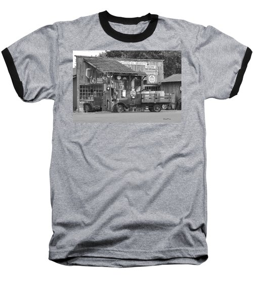 Corner Gas Station Baseball T-Shirt
