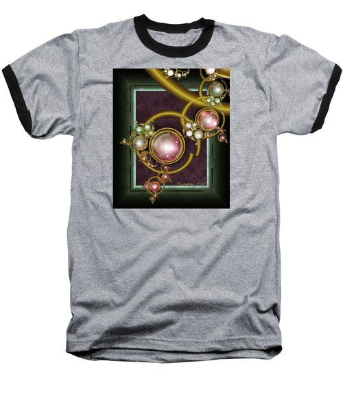 Cosmic Crystals Baseball T-Shirt