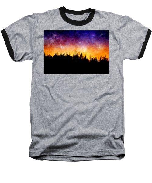 Cosmic Night Baseball T-Shirt