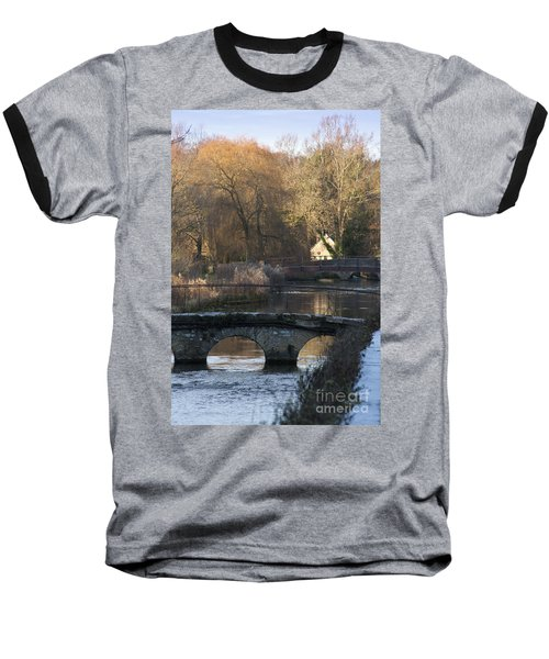 Cotswold River Scene Baseball T-Shirt