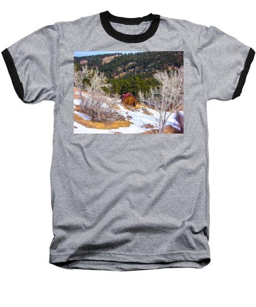 Baseball T-Shirt featuring the photograph Country Barn by Shannon Harrington