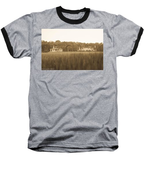 Baseball T-Shirt featuring the photograph Country Estate by Shannon Harrington