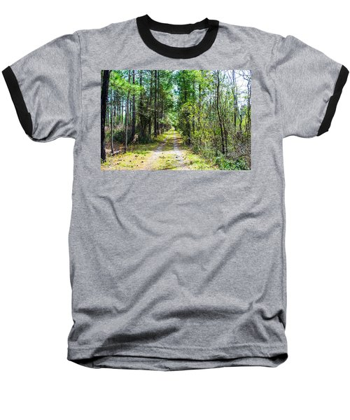 Baseball T-Shirt featuring the photograph Country Path by Shannon Harrington