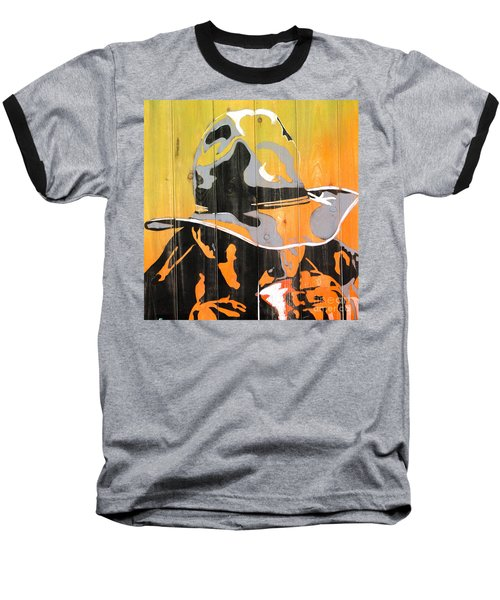Cowboy Coffee Baseball T-Shirt