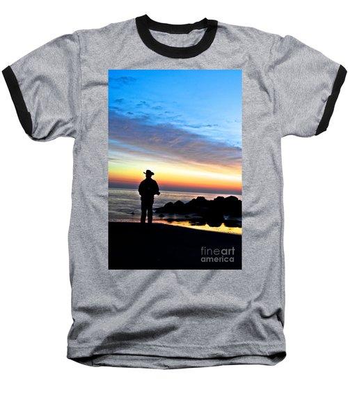 Cowboy Sunrise Baseball T-Shirt