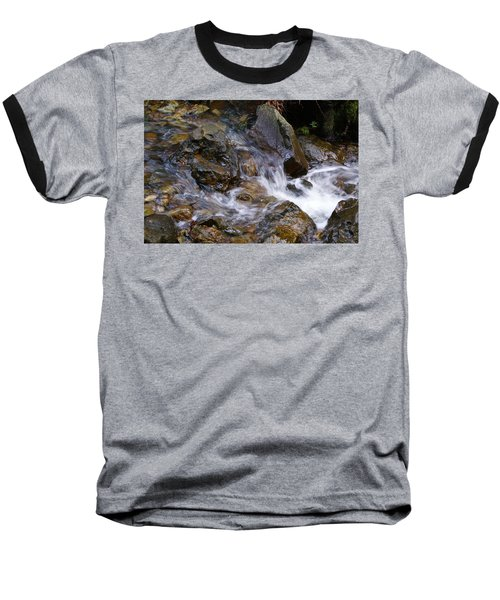 Creek Scene On Mt Tamalpais Baseball T-Shirt