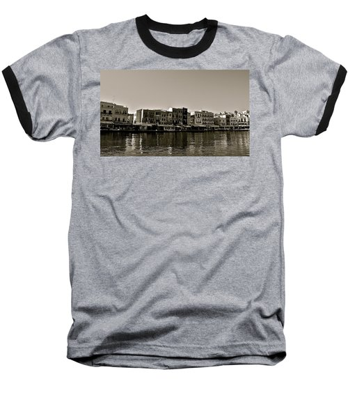 Baseball T-Shirt featuring the photograph Crete Reflected by Eric Tressler