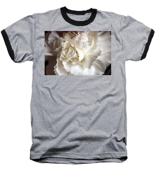Baseball T-Shirt featuring the photograph Crisp Carnation Photo by Deniece Platt