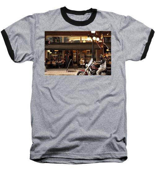 Baseball T-Shirt featuring the photograph Crusin' Ybor by Steven Sparks