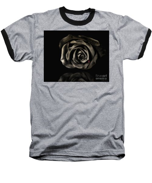 Crying Black Rose Baseball T-Shirt
