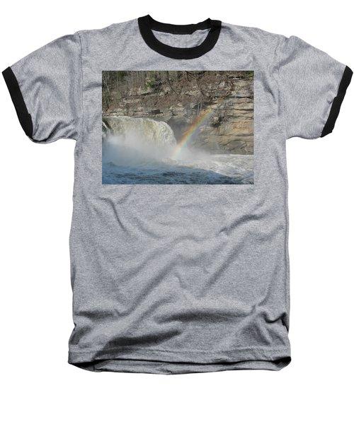 Baseball T-Shirt featuring the photograph Cumberland Falls by Tiffany Erdman