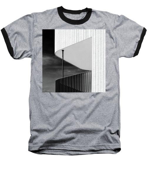 Curved Balcony Baseball T-Shirt