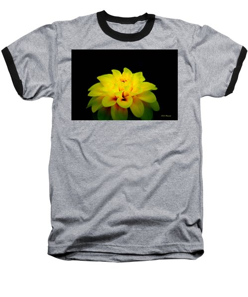 Baseball T-Shirt featuring the photograph Dahlia Delight by Jeanette C Landstrom