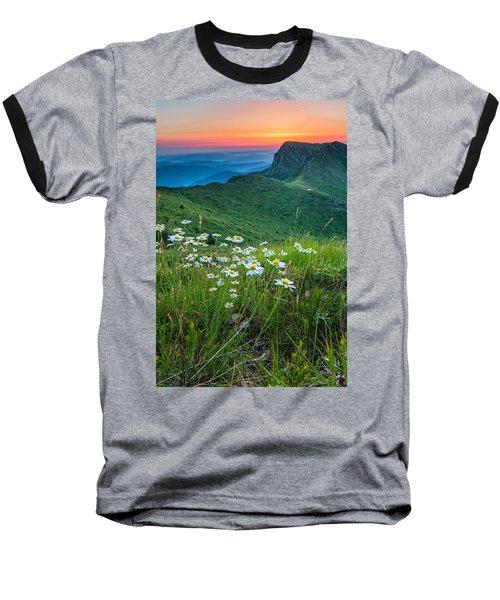 Daisies In The Mountyain Baseball T-Shirt