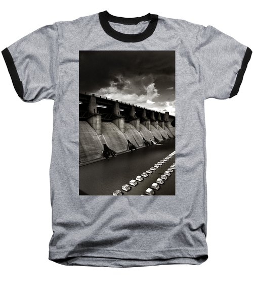 Baseball T-Shirt featuring the photograph Dam-it by Brian Duram