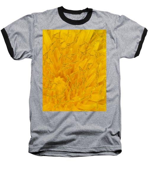 Dandelion Up Close Baseball T-Shirt