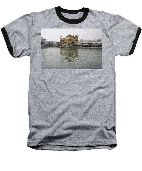 Darbar Sahib And Sarovar Inside The Golden Temple Baseball T-Shirt