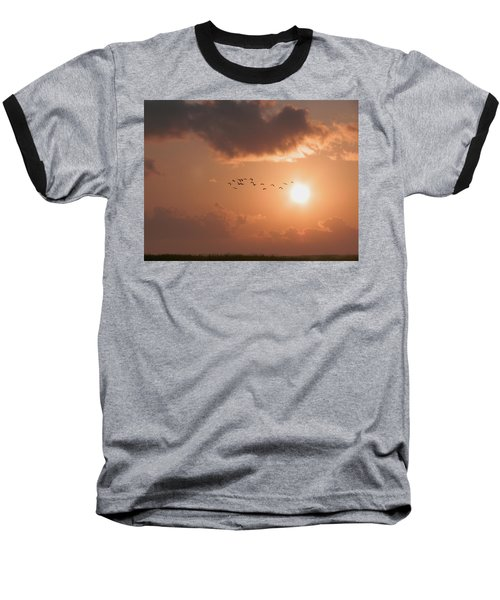 Dawn Flight Baseball T-Shirt