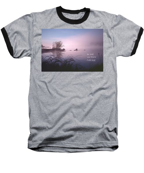 Dawn On The Chippewa River Baseball T-Shirt