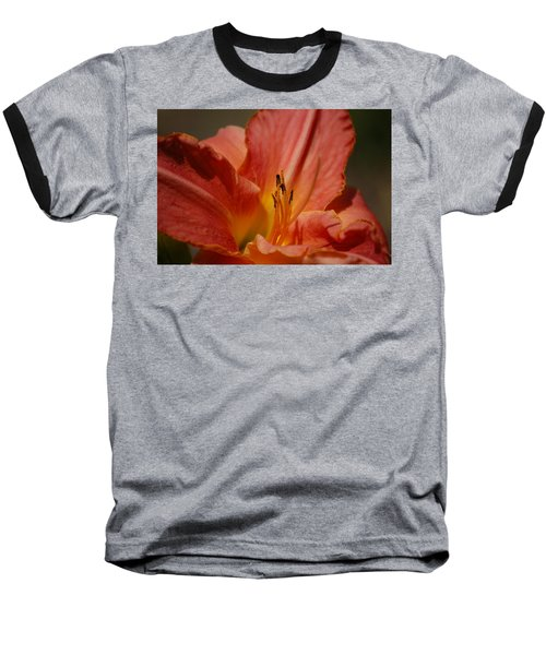 Daylilly Baseball T-Shirt