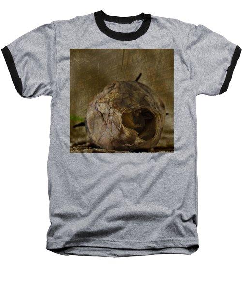 Baseball T-Shirt featuring the photograph Dead Rosebud by Steve Purnell