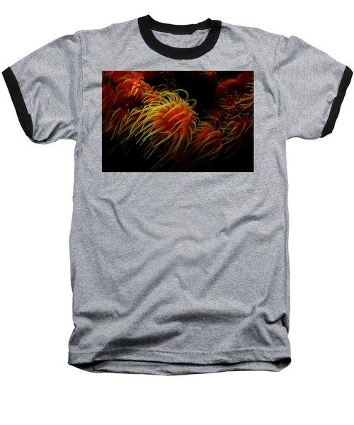Deep Ocean Coral Polyp Baseball T-Shirt