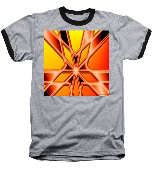 Baseball T-Shirt featuring the digital art Deep Thought by George Pedro