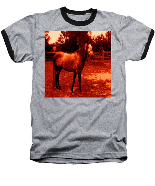 Baseball T-Shirt featuring the photograph Defiance by George Pedro