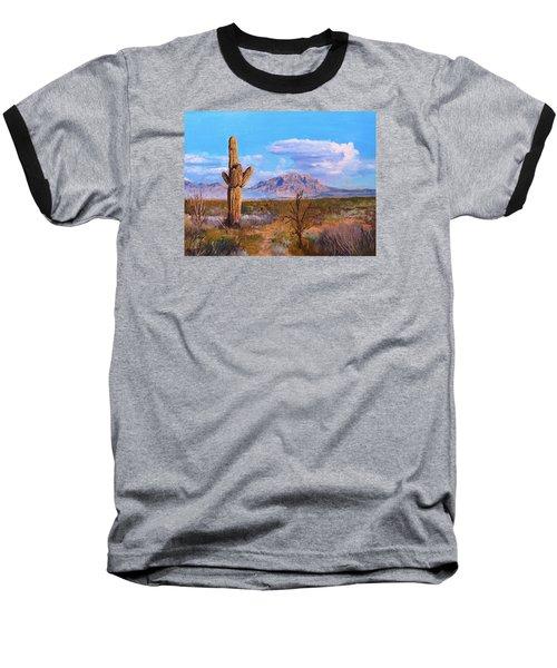Desert Scene 4 Baseball T-Shirt