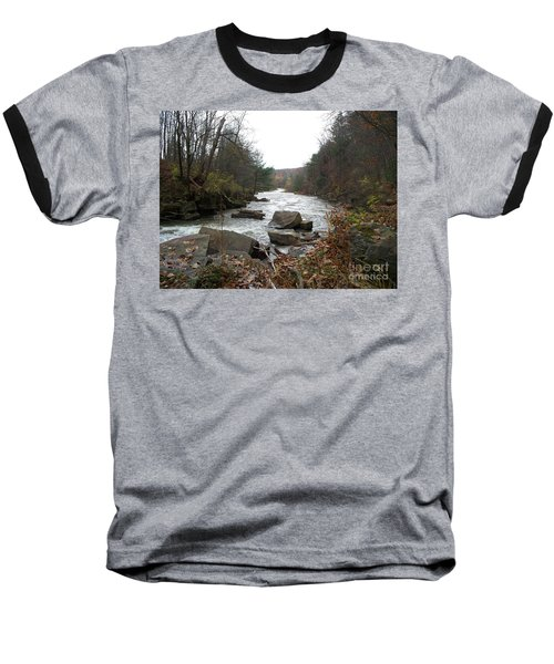 Destination Atlantic Baseball T-Shirt by Christian Mattison