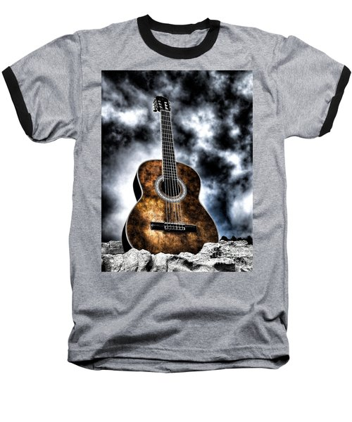 Devils Acoustic Baseball T-Shirt