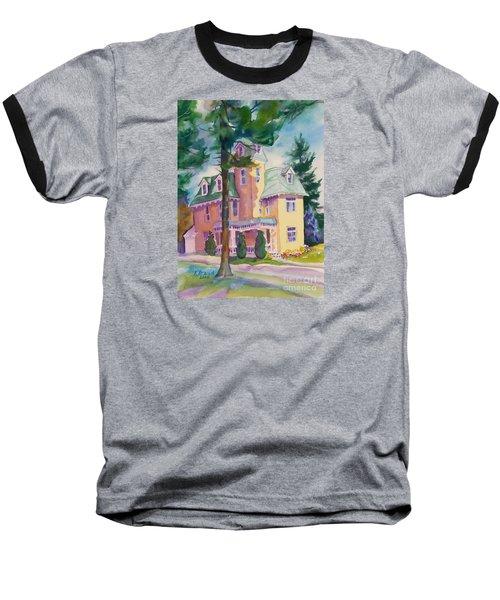 Dewey-radke Glowing Baseball T-Shirt by Kathy Braud