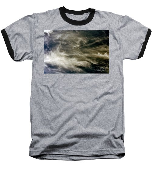 Dirty Clouds Baseball T-Shirt by Clayton Bruster
