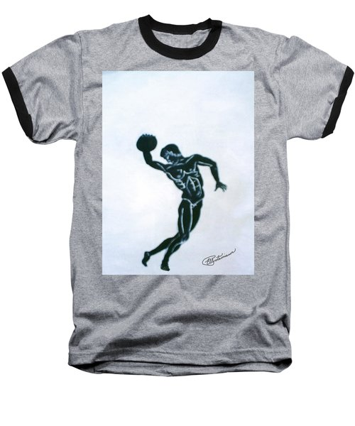 Disc Thrower Baseball T-Shirt