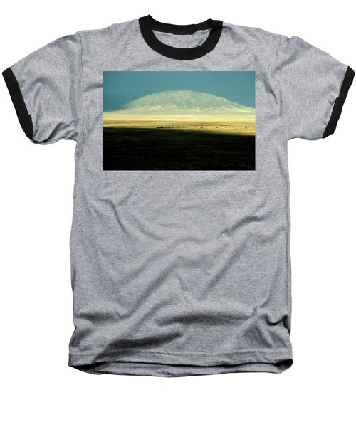 Baseball T-Shirt featuring the photograph Dome Mountain by Brent L Ander