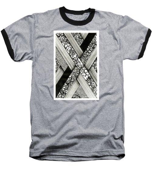 Crossing Paths Baseball T-Shirt