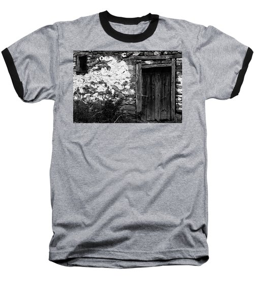 Door  Window And The Wall  Baseball T-Shirt