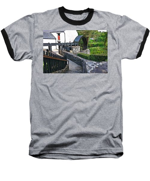 Baseball T-Shirt featuring the photograph Down To The Mill by Charlie and Norma Brock